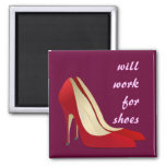 Altamente motivado: Trabajará para los zapatos (qu Iman De Frigorífico