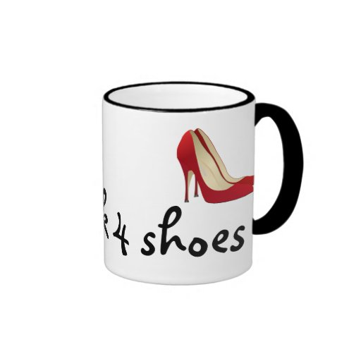 Altamente motivado: Trabajará para los zapatos (qu Tazas De Café