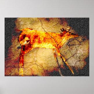 Altamira Deer Poster
