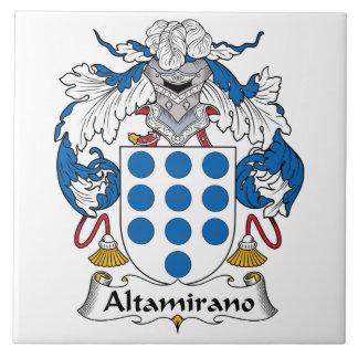 Altamirano Family Crest Ceramic Tile