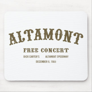 Altamont Free Concert Mouse Pad