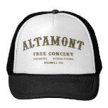 Altamont libera concierto gorro