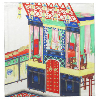 Altar 1860 del Taoist Servilleta
