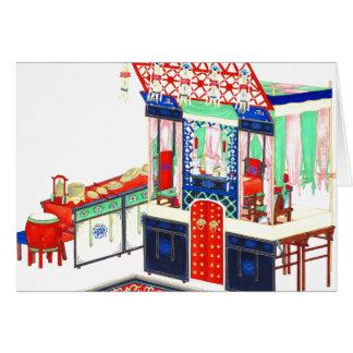 Altar 1860 del Taoist Tarjeta De Felicitación