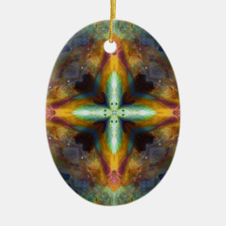 Altar Cross Ceramic Ornament