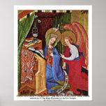 Altar de la pasión (altar Wildungen), izquierda Poster