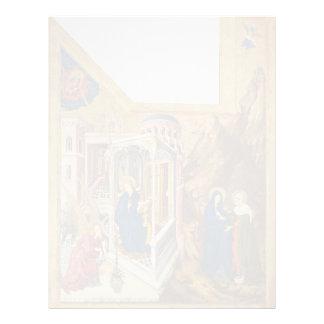 Altar de Melchior Broederlam- de Philip el intrépi Membrete