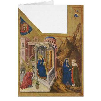 Altar de Melchior Broederlam- de Philip el intrépi Tarjeton