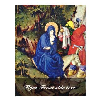 Altar de Philip el intrépido, duque Of Borgoña, la Flyer Personalizado