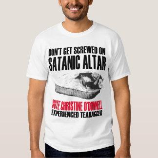 Altar de Satans Playeras