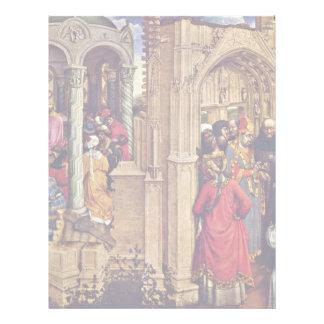 Altar de Stabwunders y la boda de Maria Membrete Personalizado