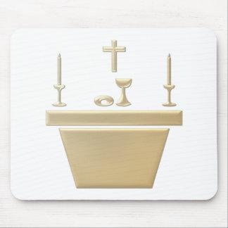Altar eucarístico católico - jueves santo tapete de raton