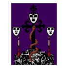 Altar Image for Baron Samedi and the Guede Poster