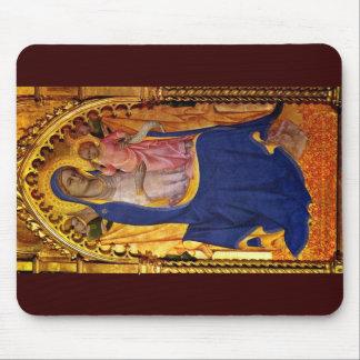 Altar Monte Oliveto Middle Panel: Madonna Mouse Pad