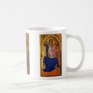 Altar Monte Oliveto Middle Panel: Madonna Mug