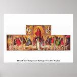 Altar Of Last Judgement By Rogier Van Der Weyden Posters