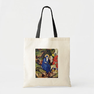 Altar Of Philip The Bold, Duke Of Burgundy, Right- Budget Tote Bag