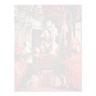 Altar Of Santa Cristina Al Tiverone Main Plate: Ma Letterhead