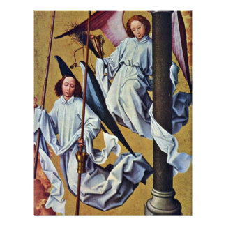 Altar Of The Last Judgment Beaune Paper Right Flyer