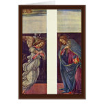 Altar Of The Last Judgment Wing: The Annunciation Greeting Cards