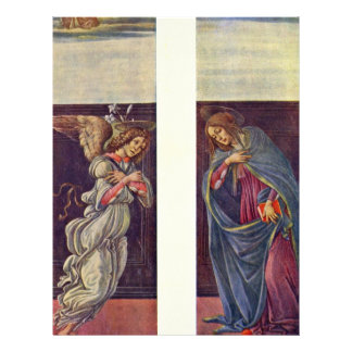 Altar Of The Last Judgment Wing: The Annunciation Custom Flyer
