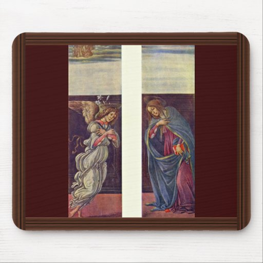 Altar Of The Last Judgment Wing: The Annunciation Mouse Pad