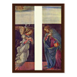Altar Of The Last Judgment Wing: The Annunciation Postcard