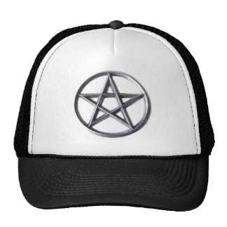 Altar Pentacle Pewter Trucker Hats