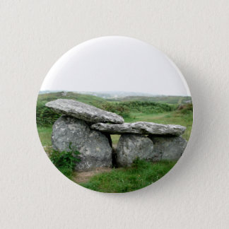 Altar Shaped Archeological Tomb Ireland Badge Pinback Button