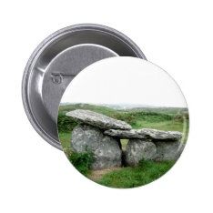 Altar Shaped Archeological Tomb Ireland Badge Pinback Button at Zazzle