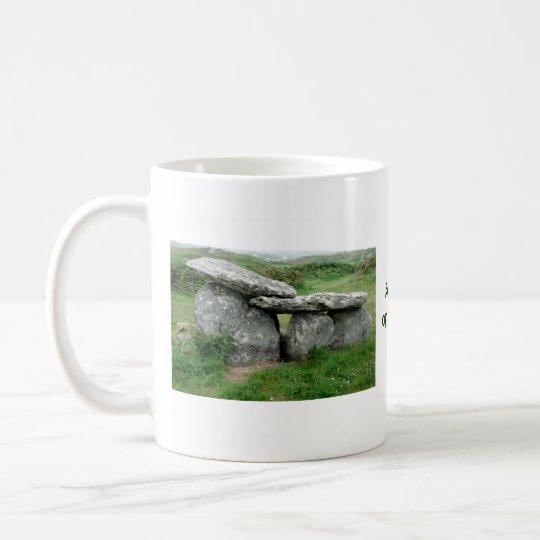 Altar Shaped Archeological Tomb Ireland Mug
