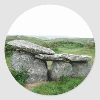 Altar Shaped Archeological Tomb Ireland Sticker