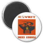 Altar soviético del ejército rojo imán