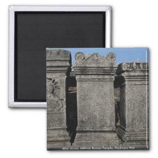 Altar stones, Mithraic Roman Temple, Hadrian's Wal Magnet