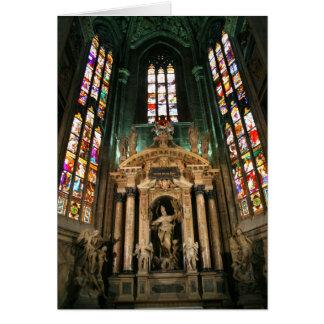Altar to St Giovanni Buono Greeting Card
