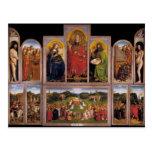 Altarpiece de enero van Eyck- The Gante Postal
