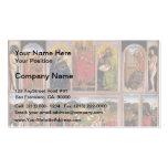 Altarpiece de enero van Eyck- The Gante Plantilla De Tarjeta Personal