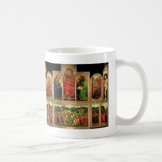 Altarpiece de enero van Eyck- The Gante Taza