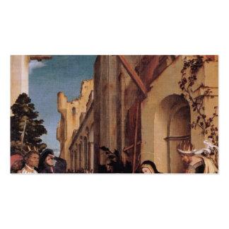 Altarpiece de Hans Holbein-Oberried Tarjetas Personales