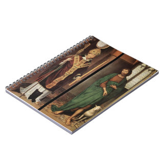 Altarpiece de la pasión de Hans Memling- Libreta Espiral