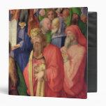 Altarpiece de Landauer: Rey David, 1511