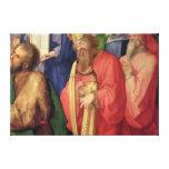 Altarpiece de Landauer: Rey David, 1511 Lona Envuelta Para Galerias