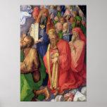 Altarpiece de Landauer: Rey David, 1511 Posters