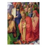 Altarpiece de Landauer: Rey David, 1511 Tarjetas Postales