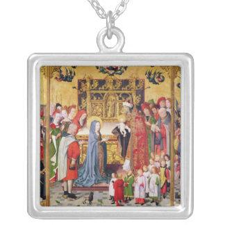 Altarpiece de las siete alegrías de la Virgen Colgante Cuadrado