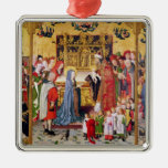 Altarpiece de las siete alegrías de la Virgen Ornamentos De Reyes Magos