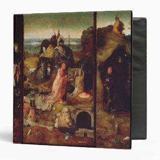 Altarpiece de los ermitaños (aceite en el panel)