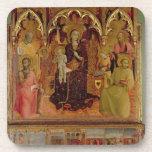 Altarpiece de Madonna de la nieve, c.1430-32 ( Posavasos
