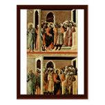 Altarpiece de Maestà de la tubería de la parte pos Postales
