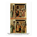 Altarpiece de Maestà de la tubería de la parte pos Tarjetas Postales